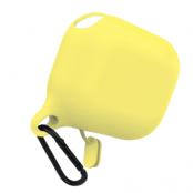 Airpods Pro Fodral med Hake - Ljusgul