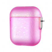 Kingxbar Apple AirPods Case - Nebula - Rosa