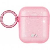 Case-Mate Airpods Sheer Crystal Hook Ups - Rosa