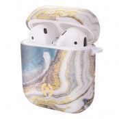 Celly Airpods Case - Marble Gold