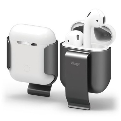 Elago AirPods Carrying Clip for AirPods Case - Grå