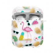Kingxbar Apple AirPods Case - Flamingo