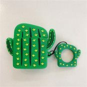 Trolsk Cactus Silicone Cover for Apple AirPods Case