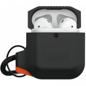 UAG Silicone Case for Apple AirPods - Grön/orange