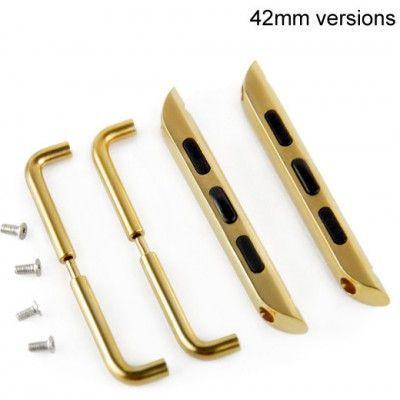 Adapter till armband (Apple Watch 42 mm) - Guld