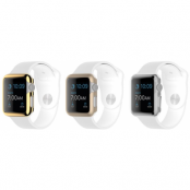 Griffin Ultra Thin Case 3-pack (Apple Watch 42 mm) - Guld