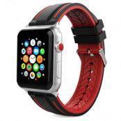 Tech-Protect Fendy Apple Watch 1/2/3/4/5 (42 / 44Mm) Svart / Röd