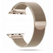 Tech-Protect Milaneseband Apple Watch 2/3/4/5/6/Se (42/44mm) - Rose Gold