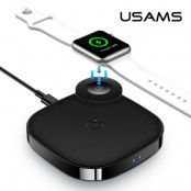 Usams 2 in 1 Wireless Charger for Apple Watch