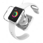 VCOER Skyddande laddningsskal till Apple Watch 38mm / 42mm - Vit