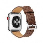 Woven Leather Band Apple Watch 42/44 mm Brown