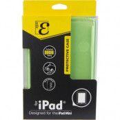 EPZI thermoplastskal för iPad mini/2/3, matt baksida, delvis transparent, grön