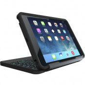 Zagg Rugged Book med tangentbord till iPad Mini 4 - Svart