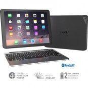 Zagg Slim Book Case med tangentbord till iPad Pro - Svart