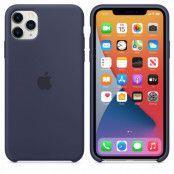Apple iPhone 11 Pro Max Silikonskal Original - Midnattsblå
