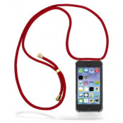 CoveredGear Necklace Case iPhone 11 Pro Max - Maroon Cord
