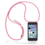 CoveredGear Necklace Case iPhone 11 Pro Max - Pink Cord