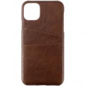Gear Onsala Card Case (iPhone 11 Pro Max) - Brun