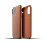 Mujjo Full Leather Case till iPhone 11 Pro Max - Tan