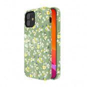 Kingxbar Flower Case - Summer (iPhone 12 mini) - Grön
