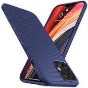 Jazz Twill Texture iPhone 12 Pro Max - Svart