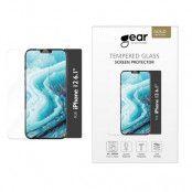 iPhone 12 & iPhone 12 Pro GEAR Härdat Glas 2.5D Full Cover - Clear