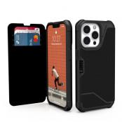 UAG iPhone 13 Pro Metropolis plånboksfodral - Svart
