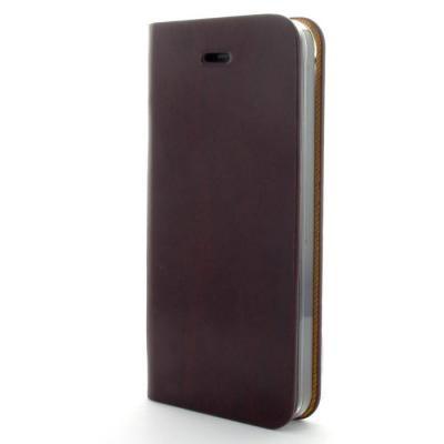 AVOC Toscana Diary Plånboksväska till Apple iPhone 5/5S/SE (Wine)