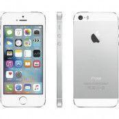 Begagnad iPhone 5S 16GB Silver Olåst i toppskick Klass A