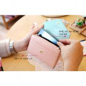 Crown Smart Fold plånbok-mobilväska (Grön)