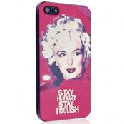 MUVIT Stay Hungry Stay Foolish Skal till till Apple iPhone 5/5S/SE  (Marilyn)