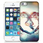 Skal till Apple iPhone 5/5S/SE - Hjärta - Vatten