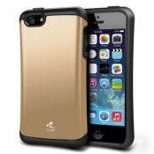 Verus Hard Drop Skal till till Apple iPhone 5/5S/SE (Gold)