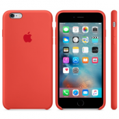 Apple Silikonskal (iPhone 6(S) Plus) - Orange
