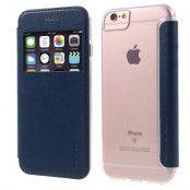 G-Case Mobilfodral med fönster till iPhone 6/6S/7/8 Plus - Blå