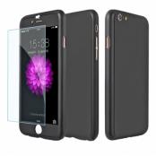 Pavoscreen 360° Helomslutande skal för iPhone 6(S) Plus, svart