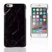 Skal till Apple iPhone 6(S) Plus - Svart Marmor