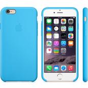 Apple Silikonfodral (iPhone 6) - Blå