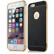 Baseus Fusion Pro Metal Frame Skal till Apple iPhone 6 / 6S - Gold