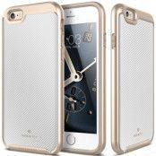 Caseology Envoy Carbon Skal till Apple iPhone 6(S) Plus - Vit