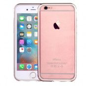COMMA Aluminium Bumper med TPU Skal till Apple iPhone 6(S) Plus - Rose Gold
