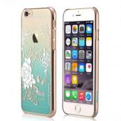 Devia skal med Swarovski-stenar till Apple iPhone 6(S) Plus - Grön
