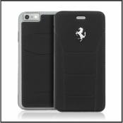 Ferrari 488 Book Case Fodral till Apple iPhone 6 (S) - Svart