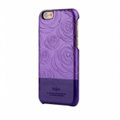 Kajsa 3D Rose Flower Skal till iPhone 6 / 6S - Lila