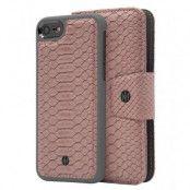 Marvêlle N°301 Plånboksfodral iPhone 6/7/8/SE 2020 - ASH PINK REPTILE