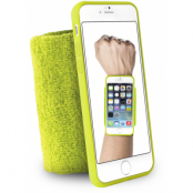 Puro Running Handledsband (iPhone 6/6S) - Lime