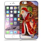 Skal till Apple iPhone 6(S) Plus - Jultomte och ren