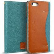 Wetherby äkta läder Plånboksfodral till iPhone 6/6S - Emerald