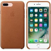 Apple iPhone 7 Plus / 8 Plus Läderskal Original - Sadelbrun