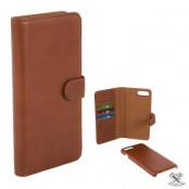 Champion Wallet Äkta Läder iPhone 7/8 Plus - Brun